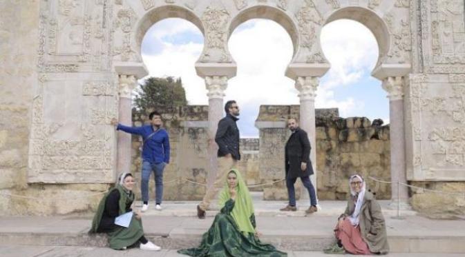 Oki Setiana Dewi datangi beberapa wisata di Cordoba, Spanyol (Foto: Instagram)