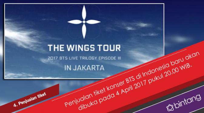 Sederet Fakta Konser Bts Di Indonesia News Entertainment