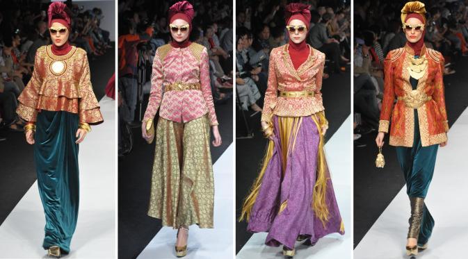 Jakarta Fashion Week 2015 Dian Pelangi Etu Norma Hauri Nur Zahra