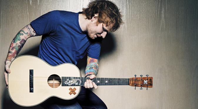 Ed Sheeran (Theguardian.com)
