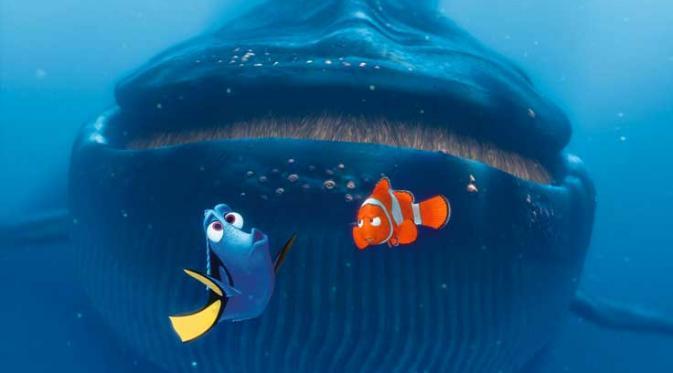 Kisah Film Animasi Finding Dory Terungkap