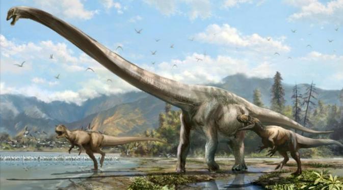 Lehernya saja sangat panjang mencapai 25 kaki atau 7,6 meter, hampir setengah dari panjang tubuh si dinosaurus. (Fox News)
