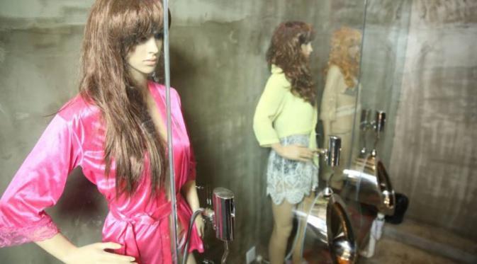 Konsep yang dihadirkan di sebuah Restoran di kota Taiyuan, di provinsi Shanxi Cina utara justru mendapat protes dari pengunjung.