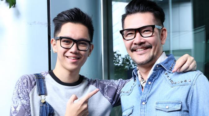Ferry Salim dan Brandon Salim. (Galih W. Satria/Bintang.com)