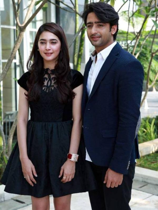 Shaheer Sheikh dan Nabila Syakieb (Deki Prayoga/Bintang.com)
