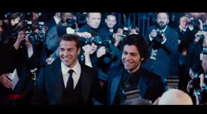 Film 'Entourage' mengharuskan Adrian Grenier melakukan 'gebrakkan' baru. Foto: Vidio