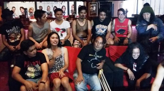 Suasana launching single Memo Band. (foto: Hernowo Anggie)