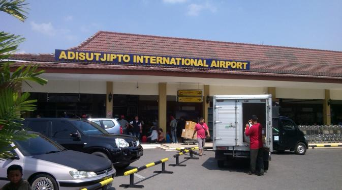 Bandara Adisutjipto Yogyakarta (Liputan6.com/Fathi Mahmud)