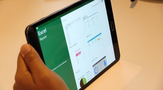 Samsung Galaxy Tab S2 (Liputan6.com/Jeko Iqbal Reza)